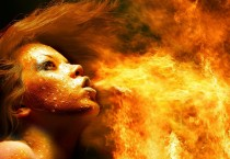 Flames From Fire Wallpaper - Fire Girl Wallpaper Hd - Fire Girl Wallpaper