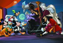 Good Vs Evil Disney Background Cartoons HD Wallpapers - Good Vs Evil Disney Background