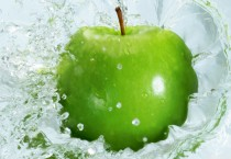 Green Apple Splash Nature HD Wallpapers - Green Apple Splash