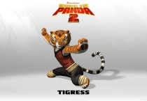 Kung Fu Panda 2 Tigress Cartoons HD Wallpapers - Kung Fu Panda 2 Tigress