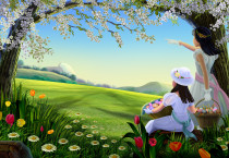 Nature Girl Landscape Nature HD Wallpapers - Nature Girl Landscape