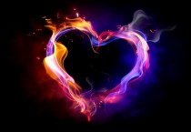 3D Love Fire 3D HD Wallpapers - 3D Love Fire