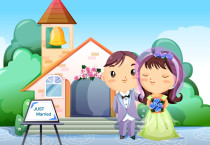 Just Maried Cartoons Cartoons HD Wallpapers - Just Maried Cartoons