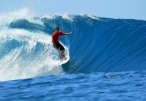 Surfing Blue Waves Sports HD Wallpapers - Surfing Blue Waves