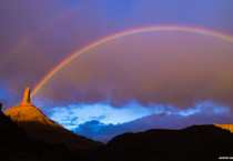 Beautiful Rainbow Scenery, HD Wallpapers - Beautiful Rainbow Scenery