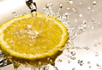 Lemon Splash Water HD Wallpapers - Lemon Splash Water