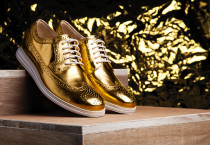 Gold Shoes Cole Haan