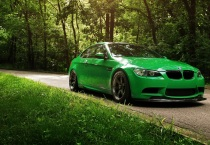 Cool Green BMW