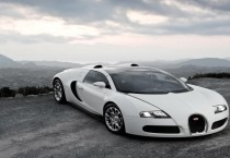 Bugatti On Mountain