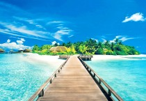Tropical Island Pier HD
