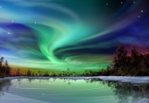 Beautiful Northern Lights HD